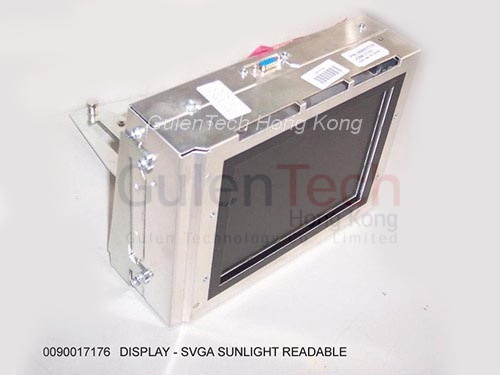 009-0017176, DISPLAY-SVGA SUNLIGHT READABLE 8 4 INCH, NCR